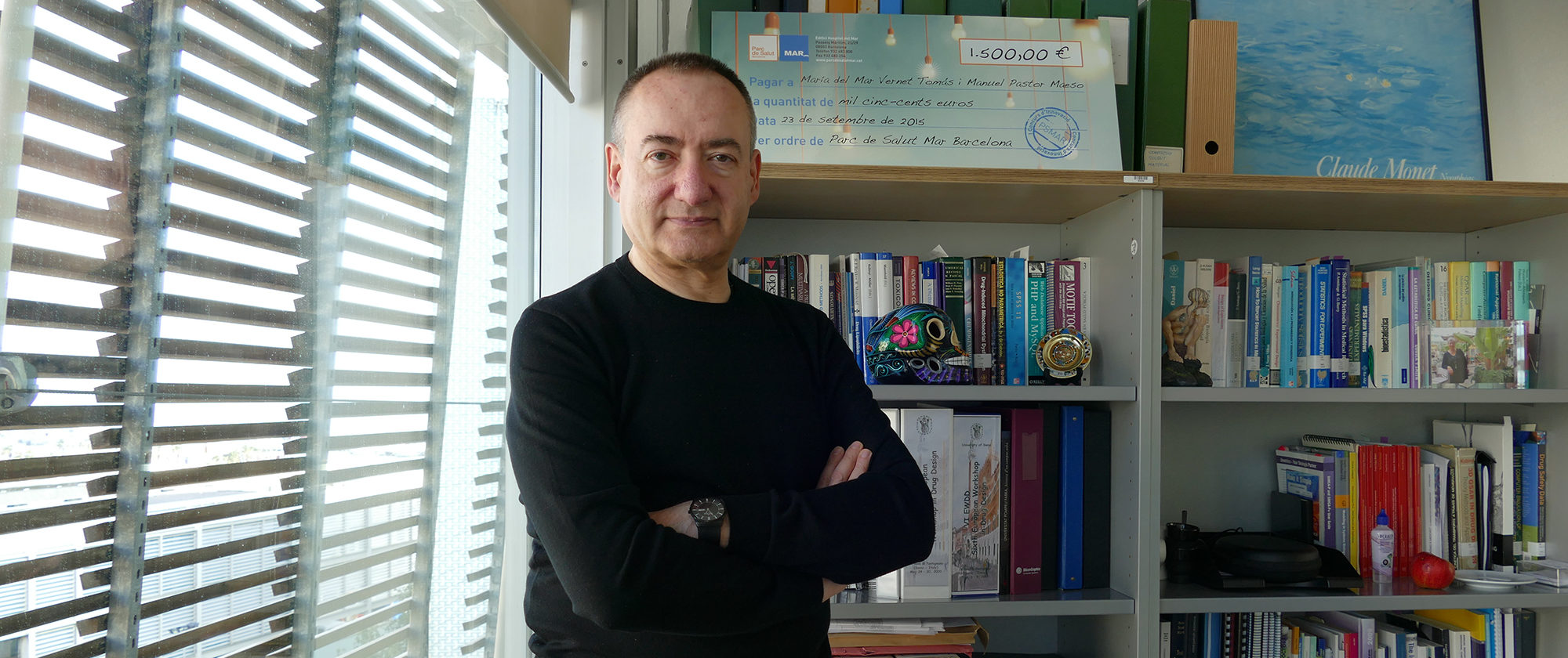 Manuel Pastor, PI of the PharmacoInformatics Group